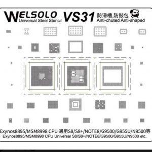Stencil Welsolo VS31