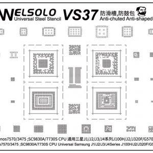 Stencil Welsolo VS37